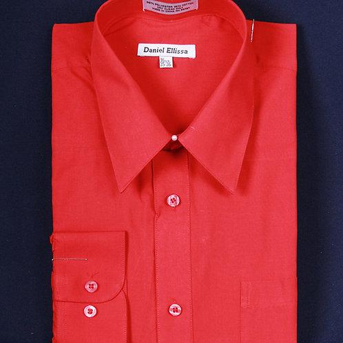 DS3001 I DANEL ELLISA DRESS SHIRT I RED