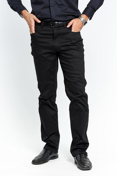 COP600 I PRESTIGE COTTON PANTS I BLACK