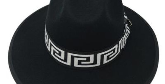 WE-971 I BRUNO CAPELO WESLEY  HAT I BLACK/WHITE