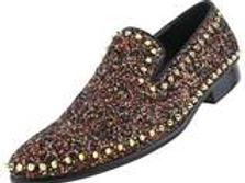 KEATS I SPIKE LOAFER BY BOLANO I RED