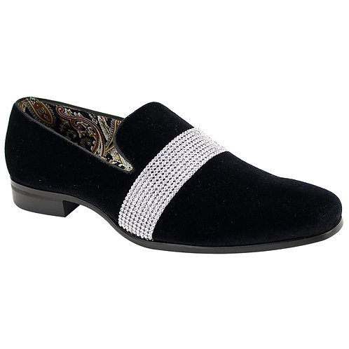 AFTER MIDNIGHT SHOES   6715   BLACK/SILVER