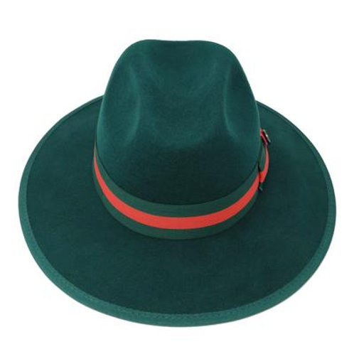 WE-970 I BRUNO CAPELO WESLEY  HAT I DARK GREEN
