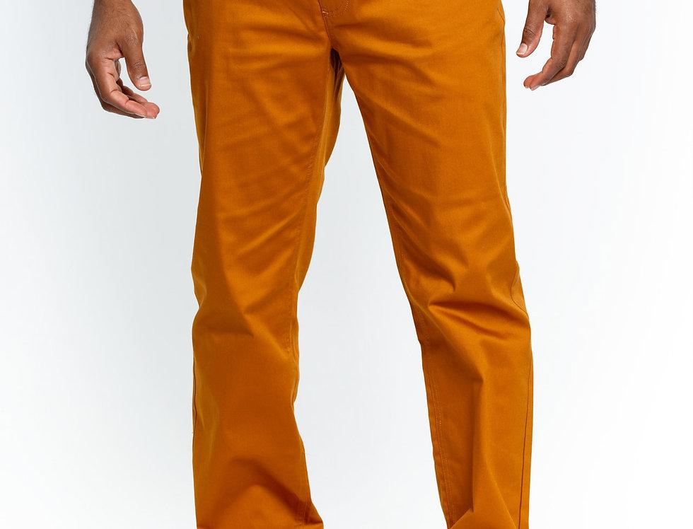 COP600 I PRESTIGE COTTON PANTS I GOLD