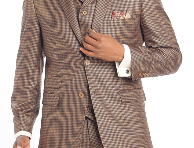 M2694.KNET & PARK SUIT-GOLD