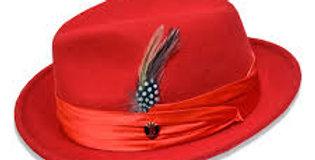 UN-105 I BRUNO CAPELO GIOVANI HAT I RED