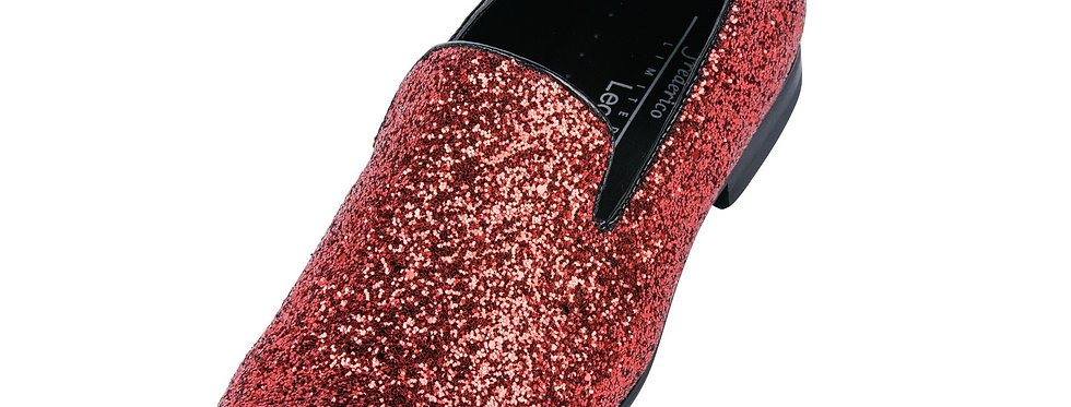 FREDERICO LEONE I FS-357 SPARKLE SHOES I RED