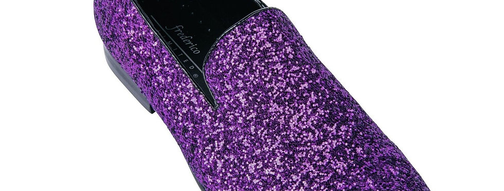 FREDERICO LEONE I FS-362 SPARKLE SHOES I PURPLE