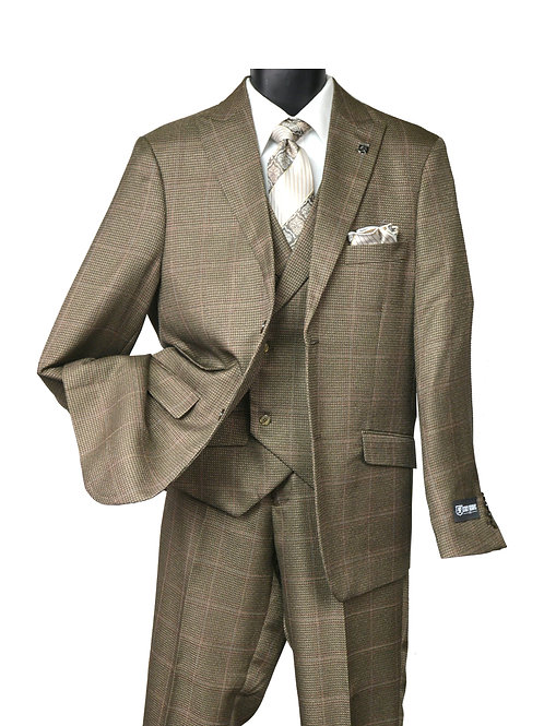 STACY ADAMS I 5902 STATE VESTED I 708- BROWN