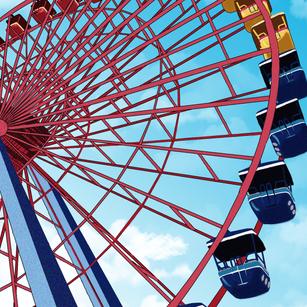 Cedar Point's Ferris Wheel