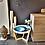 Thumbnail: Table de salon Bois 55cm Résine