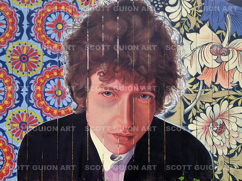 BOB DYLAN GICLEE' ON ARCHIVAL PAPER