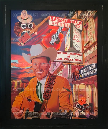 ERNEST TUBB INVADED BY GOOGLY-EYED GOOGO