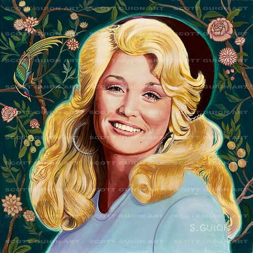 DOLLY PARTON GICLEE' ON ARCHIVAL PAPER