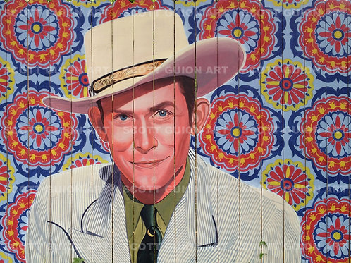 HANK WILLIAMS GICLEE' ON ARCHIVAL PAPER