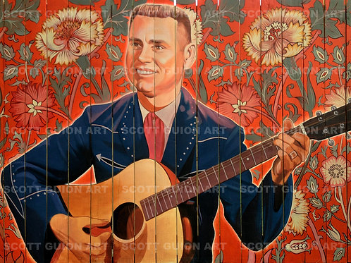 GEORGE JONES GICLEE' ON ARCHIVAL PAPER