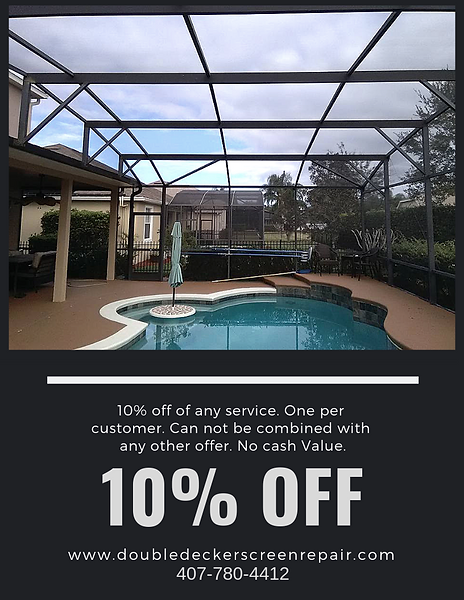 10% off of any service.One per customer.