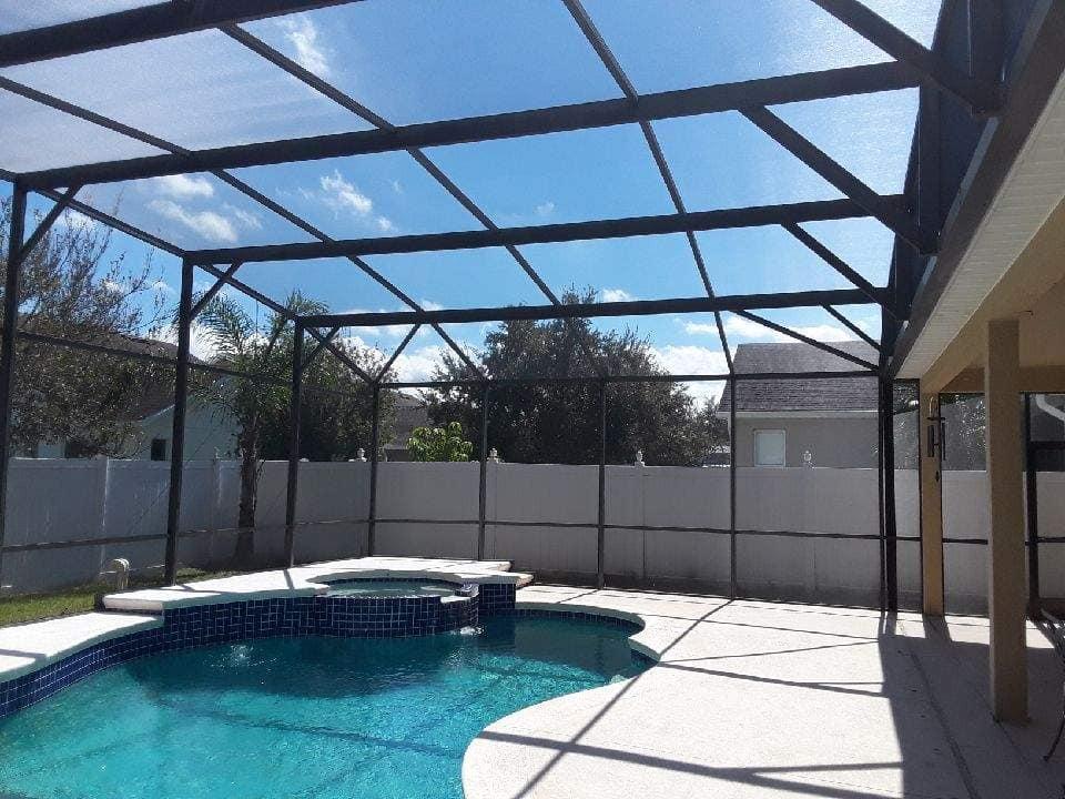 pool screen repair orlando