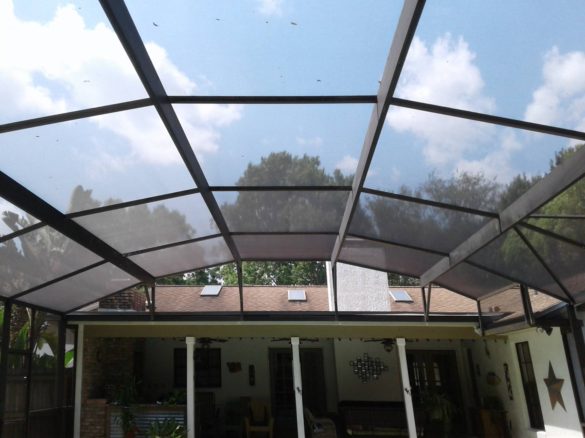pool screen repair