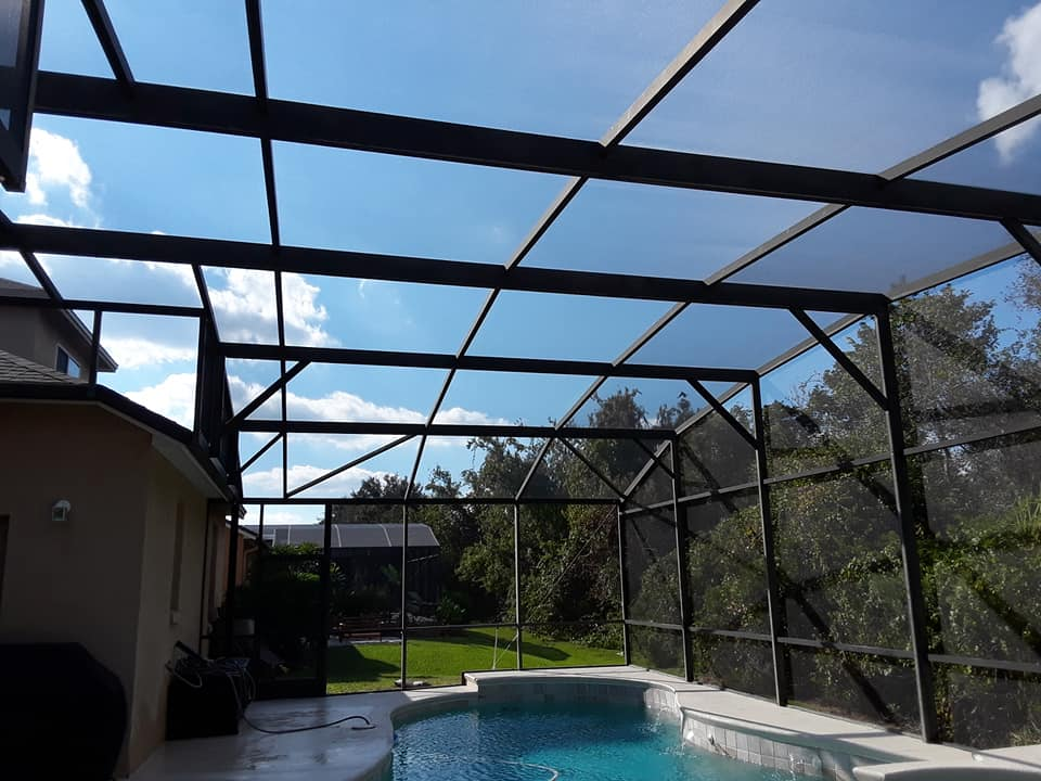 pool screen repair oviedo