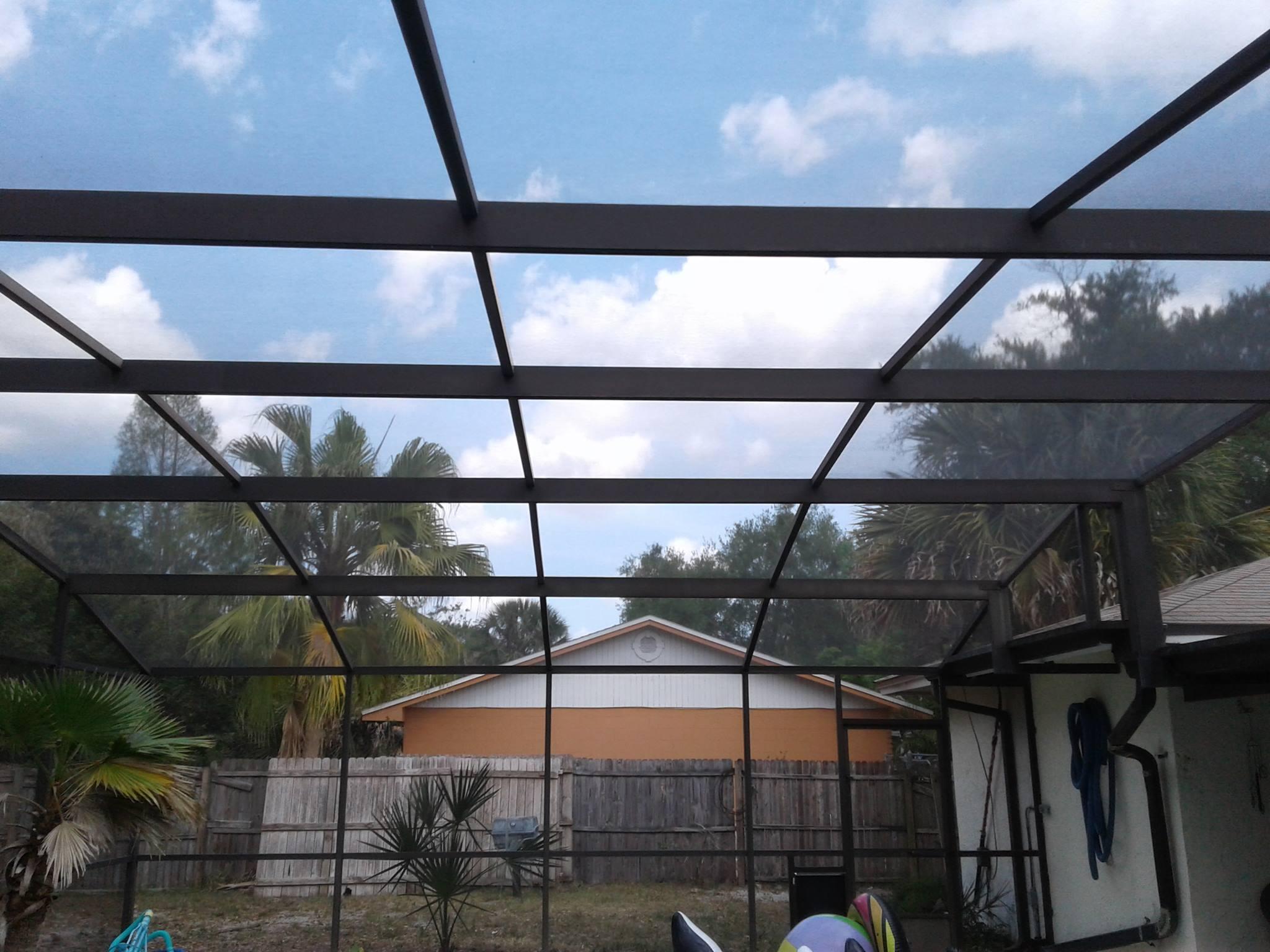 pool screen repair