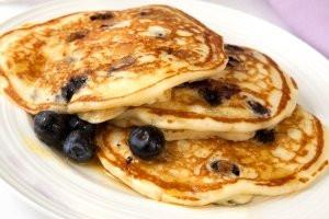 Alcoeur Apron's Blueberry Banana Pancakes
