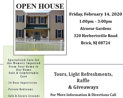 Open House Valentine's Day!