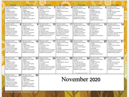 Fun activities in Brick this month
