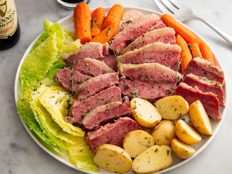 Alcoeur Apron's Corn Beef and Cabbage