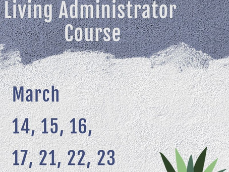 Certified Assisted Living Administrator March Course
