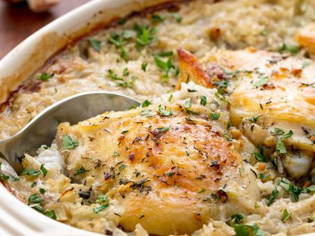Alcoeur Apron's Chicken and Rice Casserole