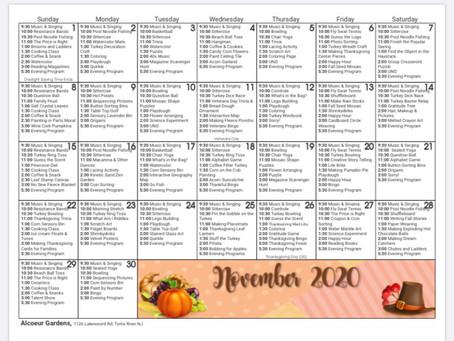 Fun November activities!!!