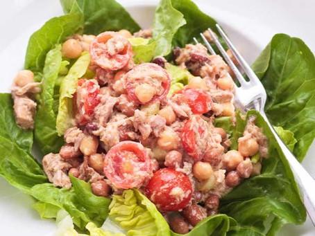 Alcoeur Apron's Chickpea Tuna Salad