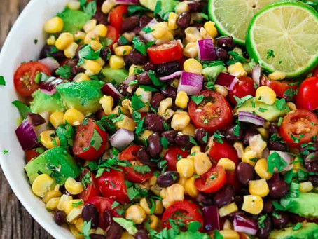Alcoeur Apron's Avocado Black Bean Corn Salad