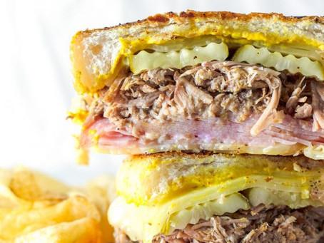 Alcoeur Apron's Slow Cooker Cuban Sandwich