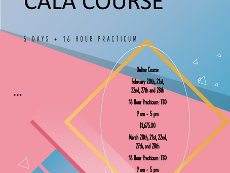 Upcoming CALA Course Dates