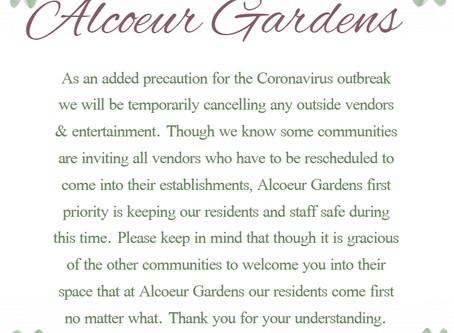 COVID-19 Added Precautions