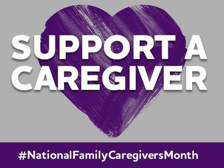 Show your support, thank a caregiver!
