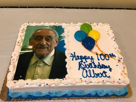 Albert turns 100 !