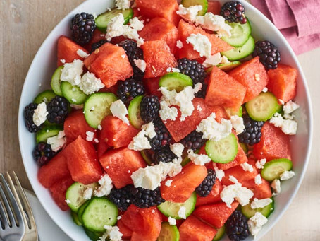 Alcoeur Apron's Sweet & Salty Watermelon Salad