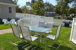 Our backyard patio