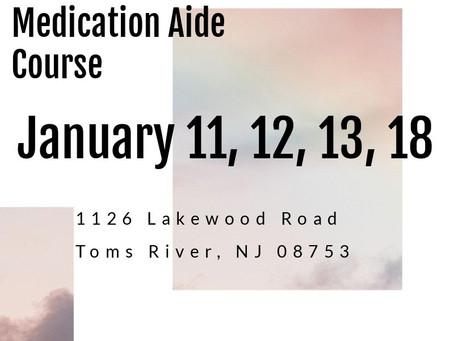 January CMA Dates!