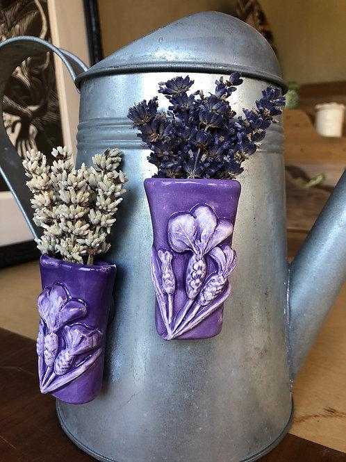 Spanish Lavender Vase Magnet