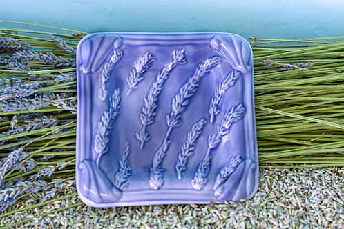Soap Dish square, periwinkle