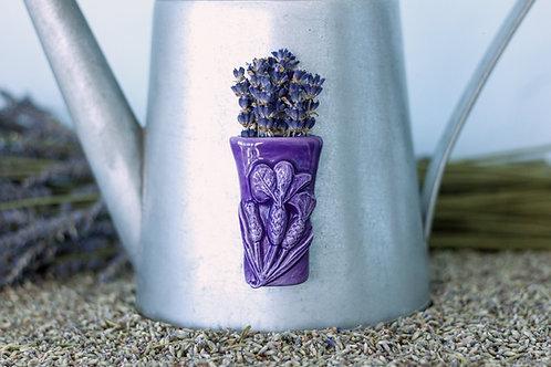 Vase Magnet, deep purple