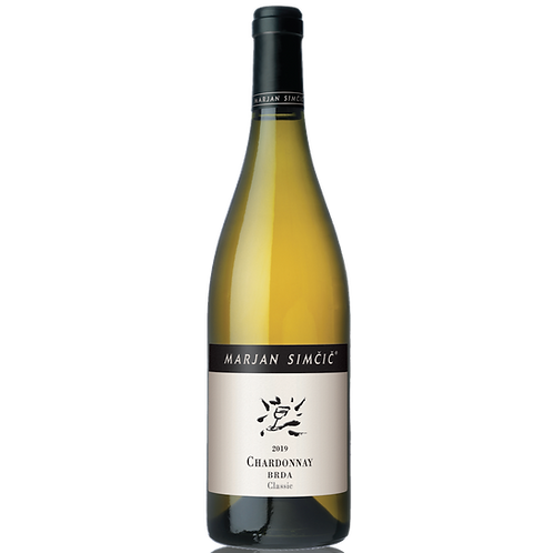 Simčič Marjan - Chardonnay - Brda Classic - bijelo vrhunsko