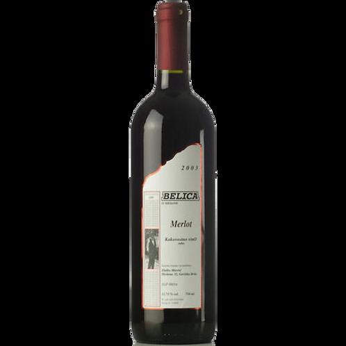 Belica - Merlot - crveno vrhunsko