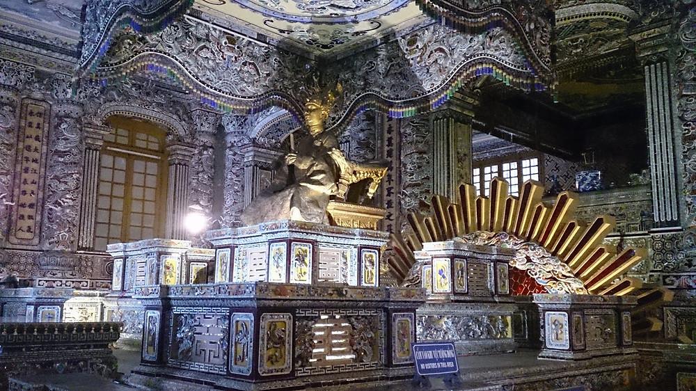 Tomb of Lang Khai Dinh (c) Arakita Rimbayana