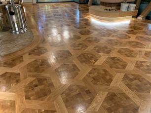 premium pattern wood flooring