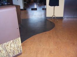 irregular inlay wood flooring