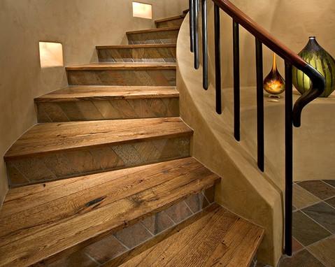 Mixed media staircase